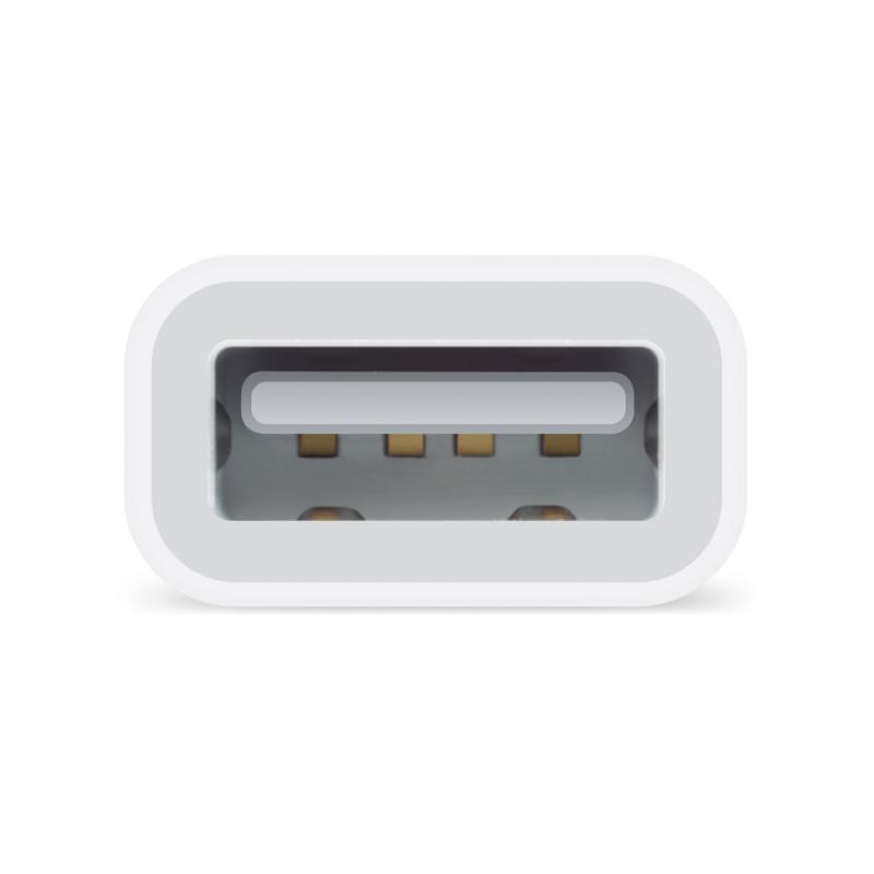 Adaptador de conector Lightning a USB para cámaras